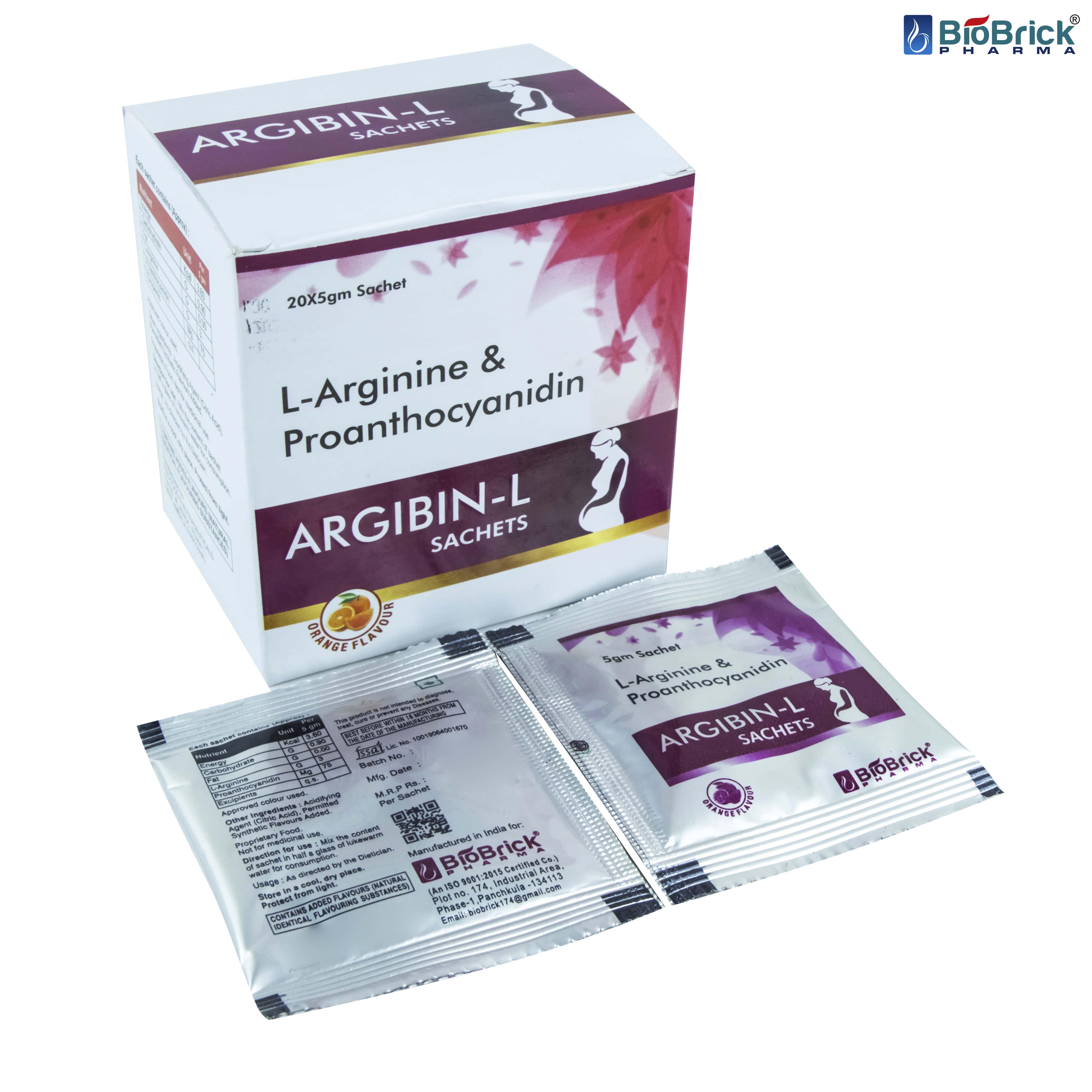 L-Arginine & Proanthocyanidin